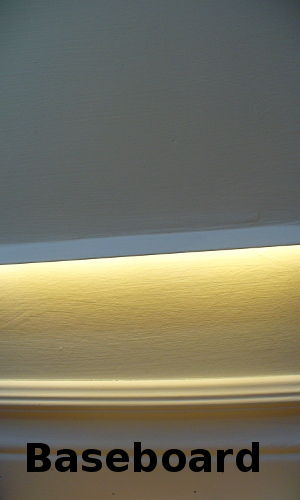 led baseboard lighting. Lighting Baseboard Led